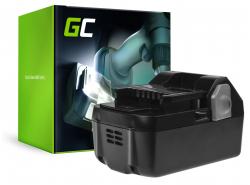 Green Cell® Batterie Akku (4Ah 18V) BSL1815 BSL1820 BSL1830 BSL1840 für Hitachi C18DSL C18DSL2 C18DSLP4 CG18DSDL CJ18DSL G18DSL