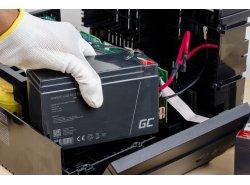 AGM GEL Batterie 12V 18Ah Blei Akku Green Cell Wartungsfreie für Photovoltaik und Echolot