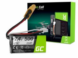 Baterie Green Cell 500mAh 7,4V XT60