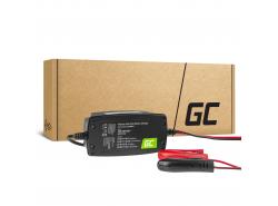 Inteligentní nabíječky Green Cell pro auto, UPS, motocykly AGM 2V / 6V / 12V (1A)