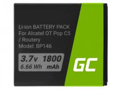 Green Cell TLIB5AF Akku für Alcatel One Touch Pop C5 / X Pop / Router Link Zone 4G LTE / MW40 / Airbox LTE