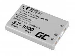 Green Cell ® Akku EN-EL14 für Nikon D3200, D3300, D5100, D5200, D5300, D5500, Coolpix P7000, P7700, P7800 7.4V 1150mAh