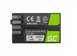 Green Cell ® DMW-BMB9 für Panasonic Lumix DMC-FZ70, DMC-FZ60, DMC-FZ100, DMC-FZ40, DMC-FZ47 7.42 1100mAh