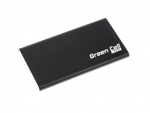 Power Bank Green Cell ® 5000 mAh mit Adapter USB Typ-C