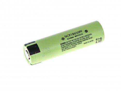 Li-Ion Panasonic Zelle 18650 NCR18650PF 2900mAh