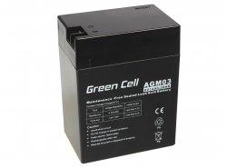 Green Cell ® Gel Batterie AGM 6V 14Ah