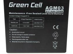 Green 14Ah