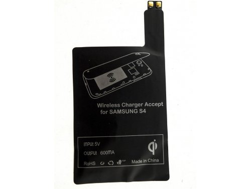 Green Cell ® QI Induktionsladeadapter für Samsung Galaxy S4