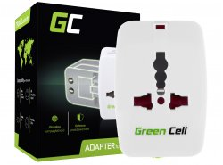 Green Cell ® Universaladapter zur Steckdose