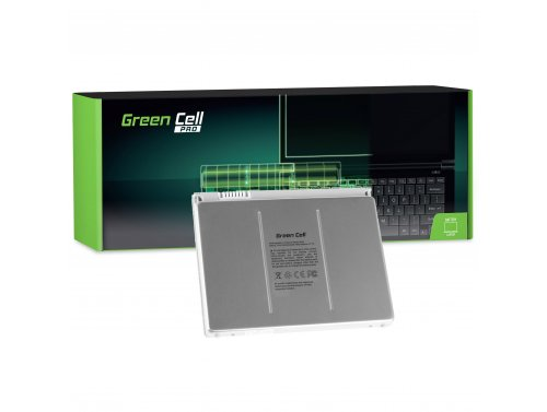 Green Cell PRO Laptop Akku A1175 für Apple MacBook Pro 15 A1150 A1226 A1260 Early 2006 Late 2006 Mid 2007 Late 2007 Early 2008