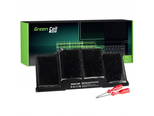 Green Cell PRO Laptop Akku A1377 A1405 A1496 für Apple MacBook Air 13 A1369 A1466 (2010, 2011, 2012, 2013, 2014, 2015)