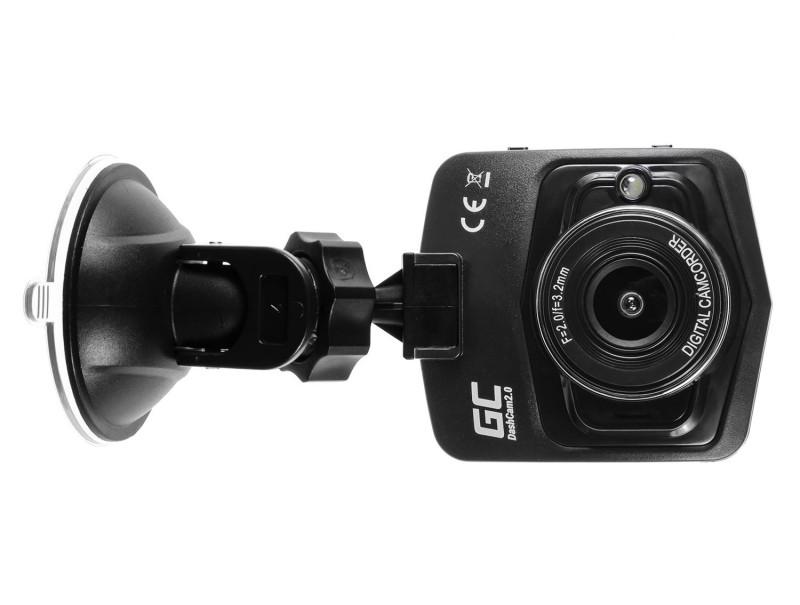 auto kamera recorder green cell dash cam 2 0 full hd 1080p g sensor mit nachtmodus battery empire. Black Bedroom Furniture Sets. Home Design Ideas