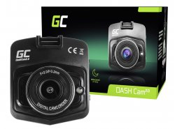 Auto Kamera Recorder Green Cell Dash Cam Full HD 1080p mit mit Nachtmodus