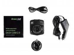 Auto Kamera Recorder Green Cell Dash Cam Full HD 1080p mit mit Nachtmodus
