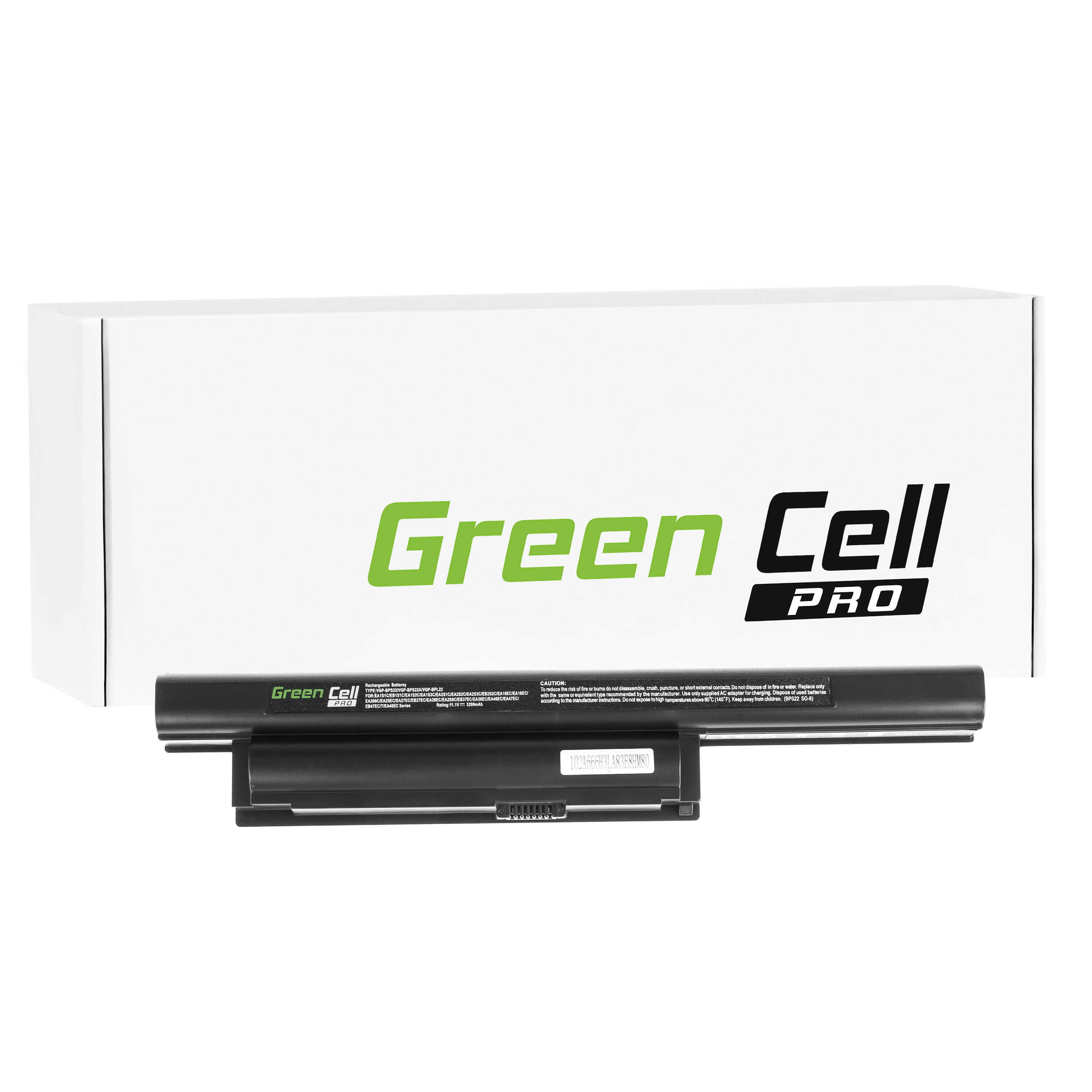 Green Cell PRO Series Laptop Battery for Sony Vaio VPCEA36FXG Samsung Cells - <span itemprop=availableAtOrFrom>Cumbria, United Kingdom</span> - Returns accepted Most purchases from business sellers are protected by the Consumer Contract Regulations 2013 which give you the right to cancel the purchase within 14 days after the day  - Cumbria, United Kingdom